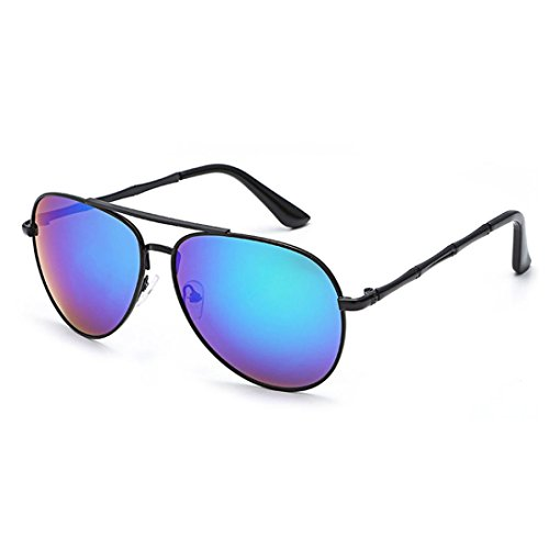 Transer Twin-Beams Geometry Design Women Metal Frame Mirror Sunglasses Cat Eye Glasses - Low Price Sunglass