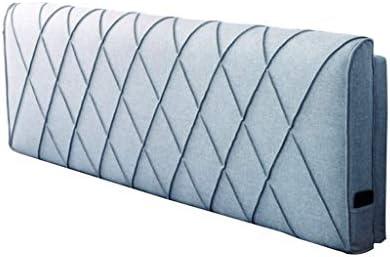 Soft Softrisベッド、ダブルピロー無垢材読書用ベッドカバー枕洗えるホルダーサイズ5色、5サイズ(色:ブルーライト、サイズ:200 * 58cm)