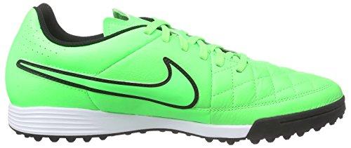 NikeTiempo Genio Leather TF - Zapatillas de Fútbol Entrenamiento  Hombre Verde - Grün (Green Strike/Green Strike/Black/Black)