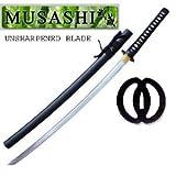 Ace Martial Arts Supply Bushido Musashi High Carbon Steel Iaito Katana Sword