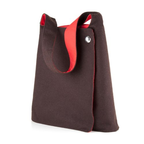Speck Product Blackberry - Speck Products A-Line Tote for iPad, Netbook and eReaders, Brown/Red (NBK-AL10-A09A07)