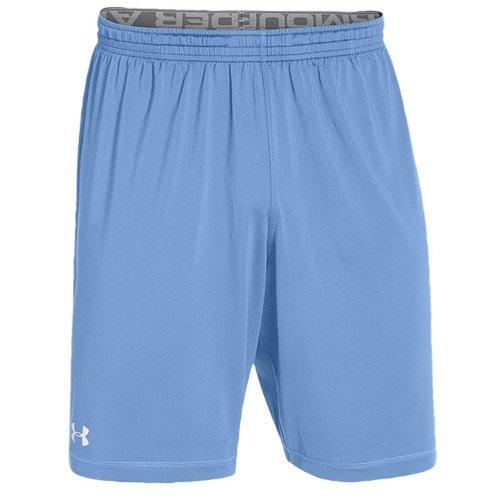 (Under Armour Men's UA Raid Team Shorts Large Carolina Blue)