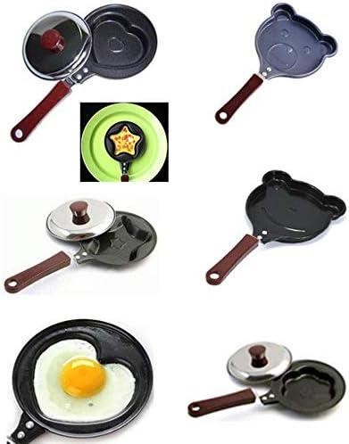 LTE Petit déjeuner Omelette poêle à Frire Dessin animé poêle à Frire antiadhésive pour Oeufs Crêpe Pot créative Plaque de Cuisson Fer Omelette Pan Cast, Piggy