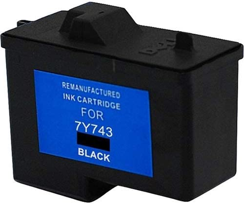 Series 2 SuppliesMAX Compatible Replacement for CIG114764 Black Inkjet Equivalent to Dell 7Y743