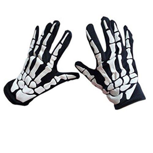 Kintaz Halloween Accessories - Skeleton Gloves -