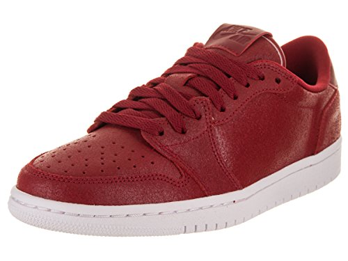 Jordan WoMen WMNS Air 1 Retro Low Ns Fitness Shoes Multicolour (Gym Red / Metallic Gold 623)