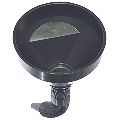 Basic Oil Funnel - Engine, Fluids, Gasoline, Liquids, Kerosene Funnel with Flexible Spout Extension: Automotive