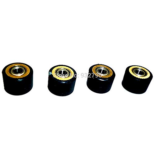FINCOS 1/2/3/4/5/6/10pcs Pinch Roller for Roland Vinyl Plotter Cutter 4x10x14mm Paper Pressing Wheel Engraving Machine Printer Parts - (Color: 10pcs) by FINCOS (Image #5)