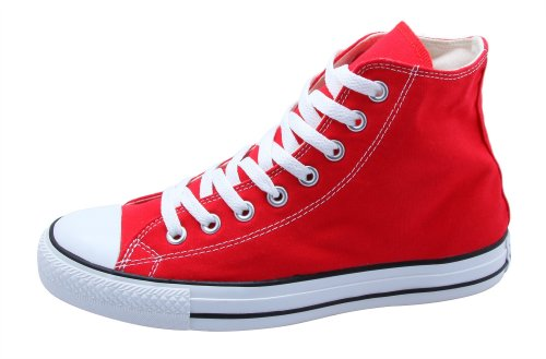 Converse All Star HI - Baskets - Rouge M9621, EUR taille:39.5