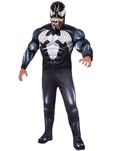 Venom Costumes For Men (Marvel Men's Universe Venom Costume, Multi, Standard)