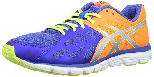ASICS Gel-Zaraca 3 - Zapatillas de deporte para hombre Azul (Blue / Silver / Flash Yellow 4293)