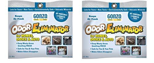 ng Rocks - 32 oz - 907 Grams [2 Pack] - Pet Cigarette Smoke Paint Garbage Odor Eliminator for Car Home Gym Bag Basement Locker Room ()