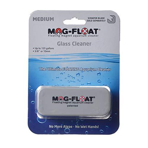 MagFloat Floating Magnetic Aquarium Glass Cleaner - Medium (125 Gallons)