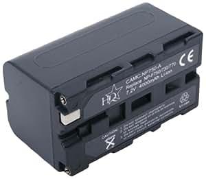 HQ CAMC.NP750-A Ión de litio 4000mAh 7.2V batería recargable - Batería/Pila recargable (4000 mAh, Ión de litio, 7,2 V, Negro, 1)