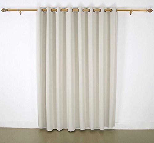Deconovo Grommet Top Blackout Curtains Wide Curtains Window ...