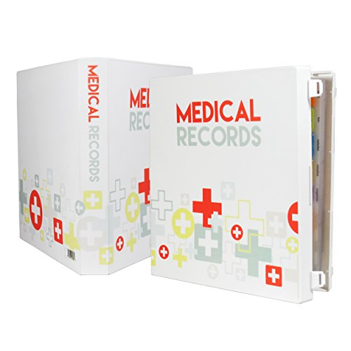 UniKeep Medical Record Organizer and Binder (Medical Record Organizer)