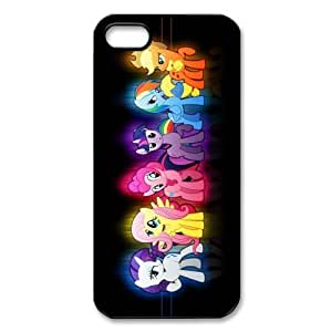 Customized iPhone Case Cartoon My Little Pony Printed Durable Hard iPhone 5 5S Case Cover
