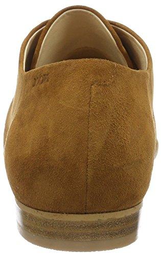Joop! 4140003343, Zapatos de Cordones Derby Mujer Marrón (Cognac)