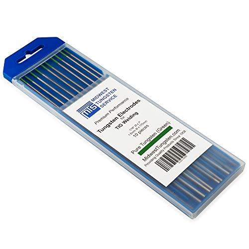 TIG Welding Tungsten Electrodes Pure Tungsten 1/16