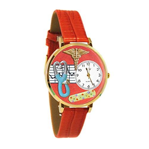 Whimsical Unisex Jewelry (Whimsical Watches Unisex G0620053 Nurse 2 Analog Display Japanese Quartz Red)