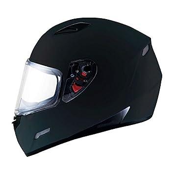 MT Mugello Casco de moto en negro mate.