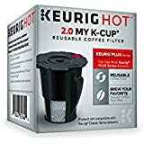 Keurig 2.0 My K-Cup Reusable Ground Coffee Filter, Compatible with All  2.0 Keurig K-Cup Pod Coffee Makers