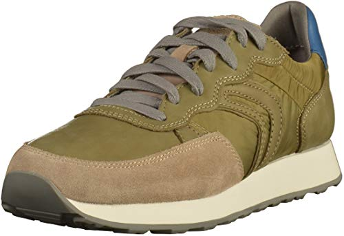 military C0152 Homme sand Vert C Sneakers Vincit Basses Geox U XwHq080z
