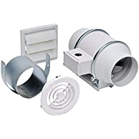 Soler & Palau KIT-TD100 In-line Exhaust Fan Kit by Soler & Palau