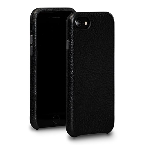 - Sena Bence Leather Skin Ultra Thin Handwrapped Leather Snap On Case For 6/7/8, Black