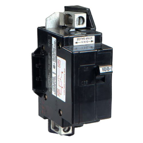 Square D by Schneider Electric QOM100VHCP QOM1 Frame Size 100-Amp Main Breaker for QO or Homeline 125-Amp or less Rated Load Centers