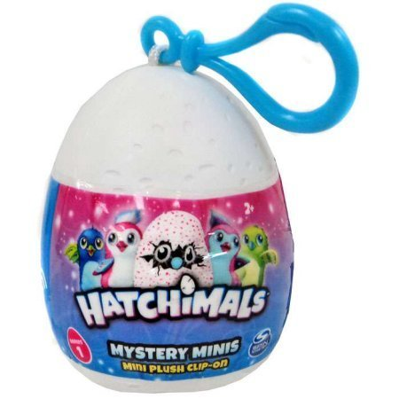 Hatchimals Mystery Mini Plush Clip-On 2 Egg