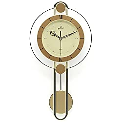 Gold Retro wall clock Creative Quartz clock decoration Wall clock bedroom Mute Pocket watch Crafts With pendulum