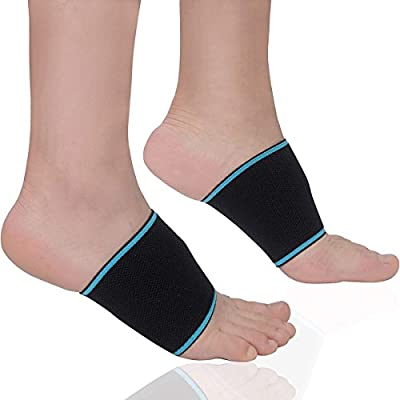 de0c173bc3 Dr.Tu Compression Copper Arch Support Socks - Plantar Fasciitis Braces/Sleeves  Relief Pressure for Flat Feet, High Arches and Foot Pain(1 Pair) (M ...
