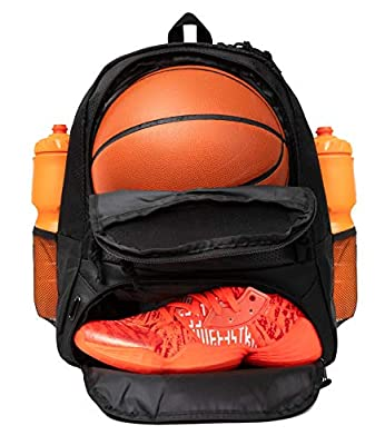 ERANT Basketball Backpack With Ball Compartment - Basketball Bags With Ball Holder - Basketball Bag Backpack - Basketball Bags For Boys - Backpack for Basketball - Basketball Backpacks for Girls