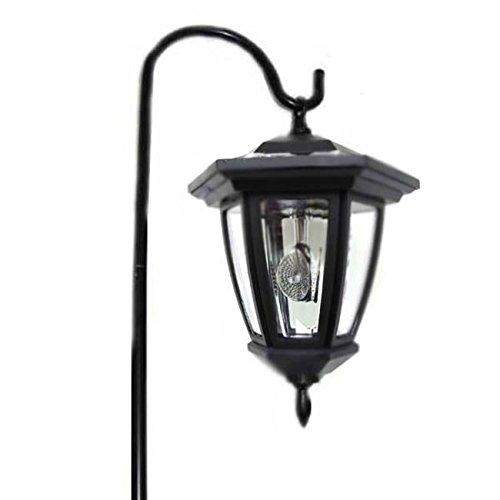 Solar Wholesale 8008 Solar Lantern w/ Shepherd Hook -- Vintage Style ()