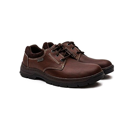 ClarksGosworth Over - Derby Hombre Marrón - Mahogany Leather