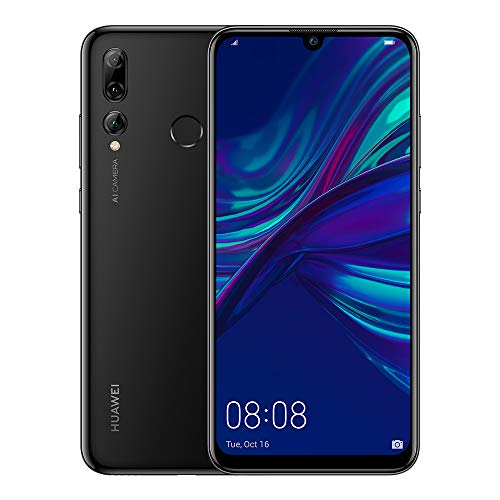 HUAWEI P Smart+ 2019 64 GB 6.21 inch FHD+ Dewdrop FullView Smartphone with Ultra-Wide Triple Camera, Android Sim-Free…