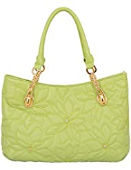 Mellow World Fashion Pixie Tote, Lime, One Size