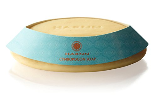 CYMBOPOGON BAR SOAP with NO PRESERVATIVES - (Lemongrass Oil, Lavender Oil, Rice Bran Oil, Coconut Oil, Palm Oil), 1 x 3.5 Lemongrass Moisturizing Bar Soap