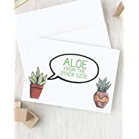 Social Distancing Card | Card for Friend | Long Distance Hug | Friendship Gift | Thinking of You | Succulent Card