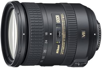 Nikon AF-S DX NIKKOR18-200mm F/3.5-5.6G ED VR II
