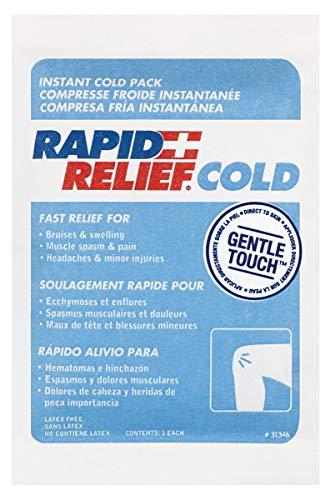 Rapid Relief RA31346 Instant Cold Pack C/W suave tecnología táctil ...