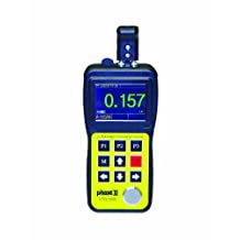 "Phase II UTG-3000 Ultrasonic Wall Thickness Gauge with A Scan-Color Waveform and Thru Coating Capability, 0.02""- 20"" Measuring Range, 6.02"" H X 1.45"" D X 2.99"" W"