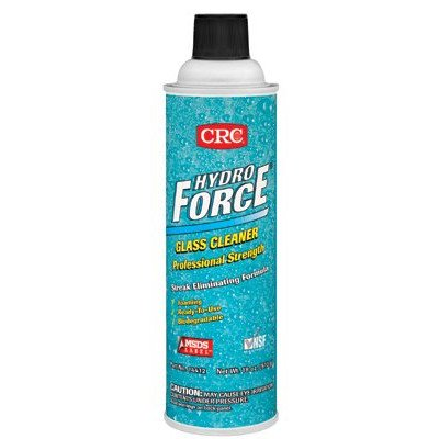 HydroForce Glass Cleaners Professional Strength - 20oz glass cleaner & lab [Set of 12] by CRC