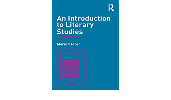 Amazon an introduction to literary studies ebook mario klarer amazon an introduction to literary studies ebook mario klarer kindle store fandeluxe Images