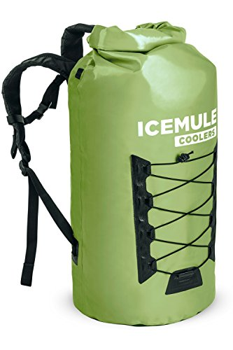 IceMule Pro Insulated Backpack Cooler Bag - Hands-Free, Highly-Portable, Collapsible, Waterproof and Soft-Sided Cooler Backpack for Hiking, The Beach, Picnics, Camping, Fishing - 40 Liters, 40 Can