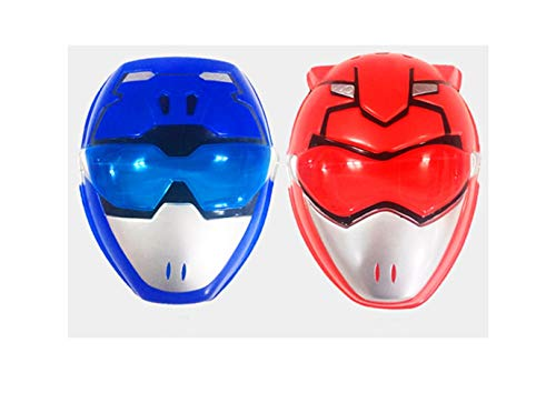 (Power Rangers Beast morphers red & Blue Masks Set for Kid Size (Imported from)