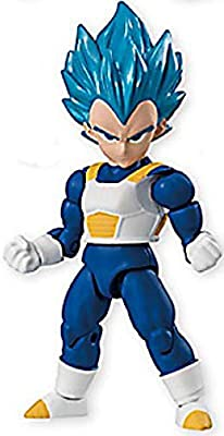 "Bandai 66 Action Dash Dragonball Super Figure 3/"" Vegeta SSGSS"