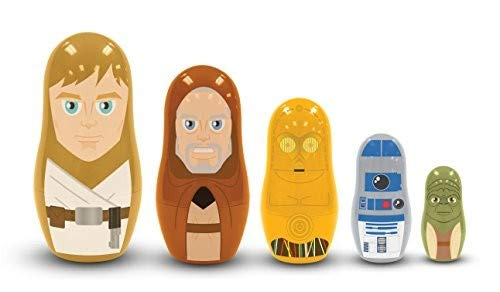 PPW Star Wars Nesting Dolls Jedi and Droids Toy by PPW (Image #2)