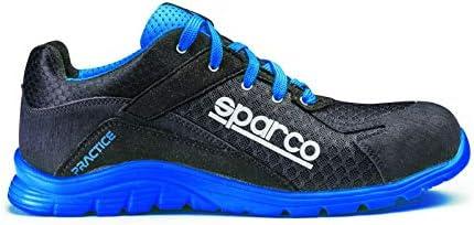 Sparco S0751744NRAZ Zapatillas Practice Negro/Blue Talla 44 ...